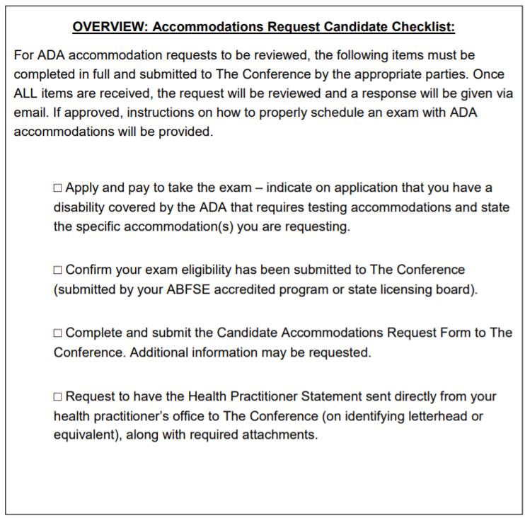 ADA-Checklist