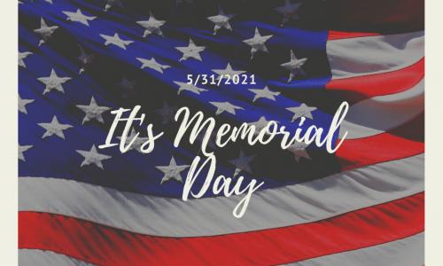 Patriotic Photo Memorial Day Facebook, Post